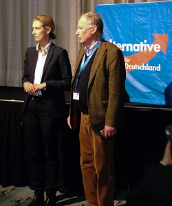 Alexander Gauland und Alice Weidel, die Spitzenkandidaten der AfD bei der Bundestagswahl 2017