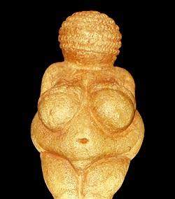 Die Venus in ihrer nackten Pracht