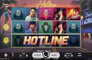 Hotline Slot Screenshot