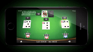 NetEnts Erstes Mobile Standard Blackjack