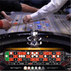 Evolution Gamings Dual-Play-Roulette