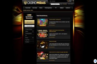 Casino Midas Screenshot 2