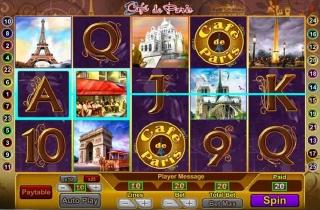 Cafe de Paris Slot Screenshot